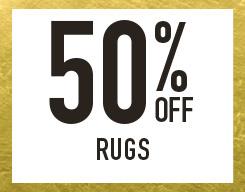 50% off ruggs
