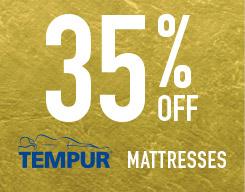 35% off mattresses