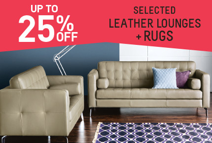 25% off selected Furniture