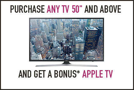 Bonus Apple TV