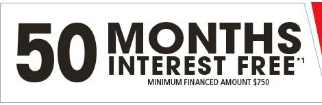 [50 month interest free]