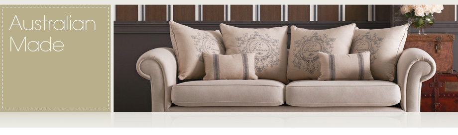 Charming At Domayne, Weu0027re Truly Passionate About Supporting Our Countryu0027s Finest  Furniture Manufacturers And The True Blue Australian Made Products That  They ...