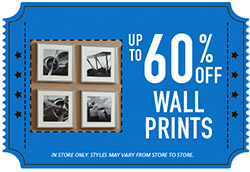 Up to 60% Off Wall Prints