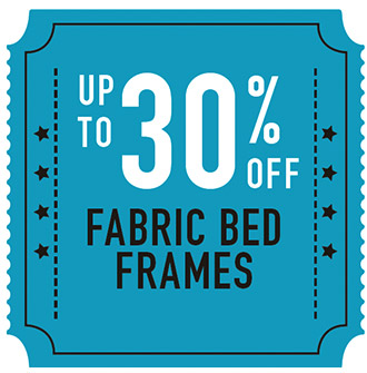 Up to 30% Off Fabric Bed Frames