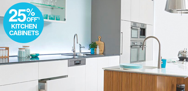 25% Off Kitchen Cabinets