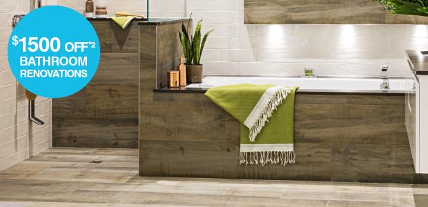 $1500 off Bathroom Renovations