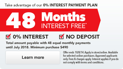 48 month Interest Free