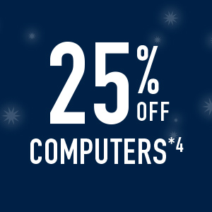 25% off computers