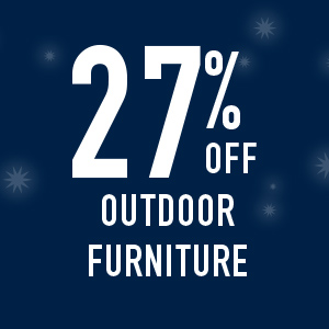 27% off outdoor furniture