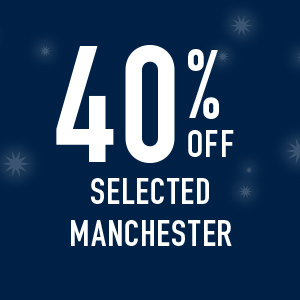 40% off Selected manchester
