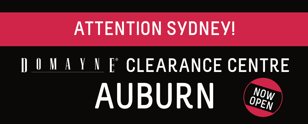Attention Sydney! Domayne CLEARANCE CENTRE AUBURN. Now open.