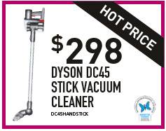 DYSON DC45 STICK VACUUM CLEANER