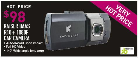 KAISER BAAS R10+ 1080P CAR CAMERA