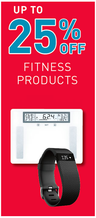Up to 25% Off Fitness Products