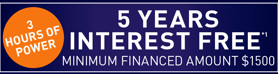 [5 years interest free]