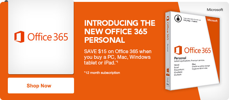 Office 365 Personal launch