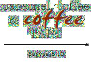 Caramel toffe & Coffee Tart