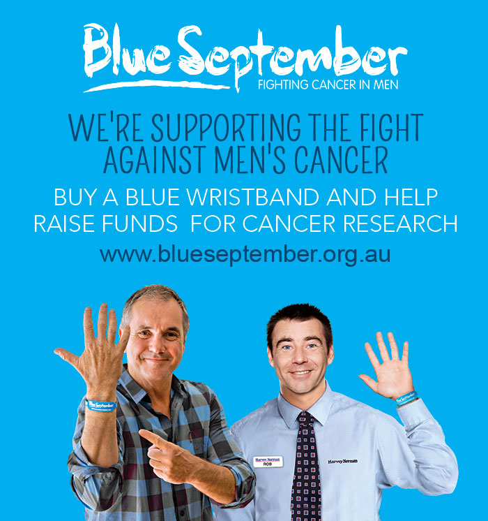 Blue September Fighting Cancer in Men with Alan Flectcher