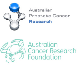 Australian Prostate Cancer Research & Australian Cancer Research Foundation logo