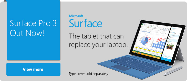 MS Surface Pro 3