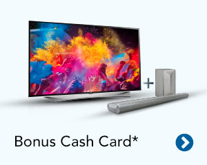 Bonus Cash Card*